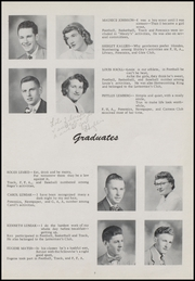 Page 15, 1953 Edition, Bonduel High School - Bear Book Yearbook (Bonduel, WI) online yearbook collection