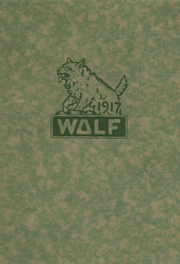 1917 Edition, Little Wolf High School - Wolf Yearbook (Manawa, WI)