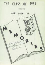 Page 5, 1954 Edition, Little Wolf High School - Wolf Yearbook (Manawa, WI) online yearbook collection