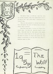 Page 5, 1955 Edition, Little Wolf High School - Wolf Yearbook (Manawa, WI) online yearbook collection