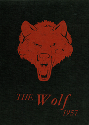 1957 Edition, Little Wolf High School - Wolf Yearbook (Manawa, WI)
