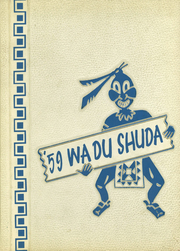 1959 Edition, New Lisbon High School - Wa Du Shuda Yearbook (New Lisbon, WI)