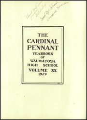 Page 7, 1929 Edition, Wauwatosa High School - Cardinal Pennant Yearbook (Wauwatosa, WI) online yearbook collection