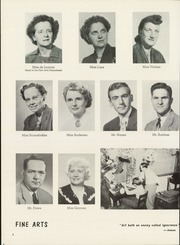 Page 10, 1953 Edition, Wauwatosa High School - Cardinal Pennant Yearbook (Wauwatosa, WI) online yearbook collection