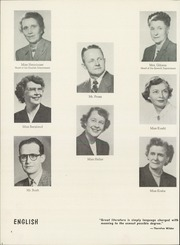 Page 8, 1953 Edition, Wauwatosa High School - Cardinal Pennant Yearbook (Wauwatosa, WI) online yearbook collection