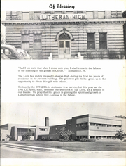 Page 7, 1961 Edition, Racine Lutheran High School - Citadel Yearbook (Racine, WI) online yearbook collection