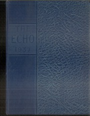 1937 Edition, Central High School - Echo Yearbook (Superior, WI)