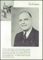 Page 9, 1939 Edition, Central High School - Echo Yearbook (Superior, WI) online yearbook collection