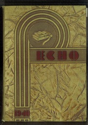 1940 Edition, Central High School - Echo Yearbook (Superior, WI)