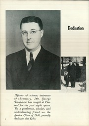 Page 8, 1940 Edition, Central High School - Echo Yearbook (Superior, WI) online yearbook collection