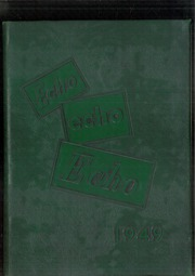 1949 Edition, Central High School - Echo Yearbook (Superior, WI)
