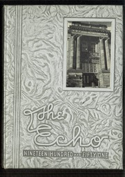 1951 Edition, Central High School - Echo Yearbook (Superior, WI)