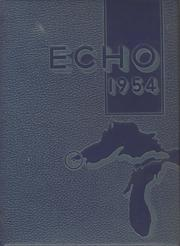 1954 Edition, Central High School - Echo Yearbook (Superior, WI)