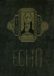 1959 Edition, Central High School - Echo Yearbook (Superior, WI)