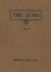 Page 1, 1923 Edition, Tri County High School - Penguin Yearbook (Plainfield, WI) online yearbook collection