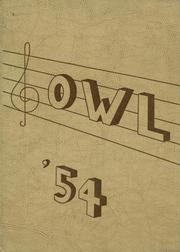 1954 Edition, Brillion High School - Owl Yearbook (Brillion, WI)