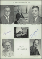 Page 12, 1954 Edition, Brillion High School - Owl Yearbook (Brillion, WI) online yearbook collection