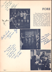 Page 8, 1943 Edition, Reedsburg High School - Gleaner Yearbook (Reedsburg, WI) online yearbook collection