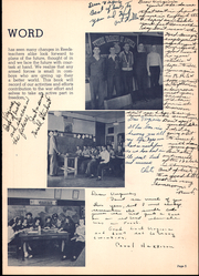 Page 9, 1943 Edition, Reedsburg High School - Gleaner Yearbook (Reedsburg, WI) online yearbook collection