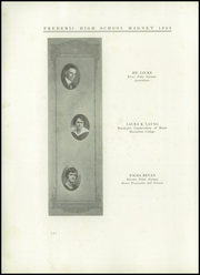 Page 8, 1923 Edition, Frederic Union Free High School - Magnet Yearbook (Frederic, WI) online yearbook collection