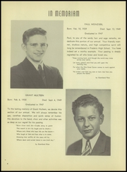 Page 8, 1950 Edition, Frederic Union Free High School - Magnet Yearbook (Frederic, WI) online yearbook collection