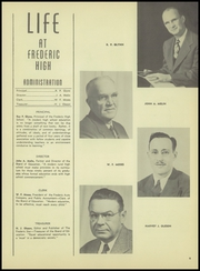 Page 9, 1950 Edition, Frederic Union Free High School - Magnet Yearbook (Frederic, WI) online yearbook collection