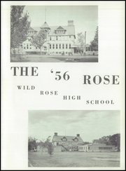 Page 5, 1956 Edition, Wild Rose High School - Rose Yearbook (Wild Rose, WI) online yearbook collection