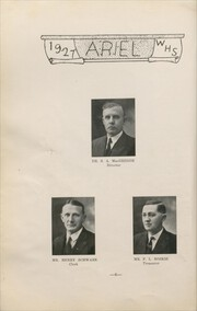 Page 10, 1927 Edition, Westfield High School - Ariel Yearbook (Westfield, WI) online yearbook collection