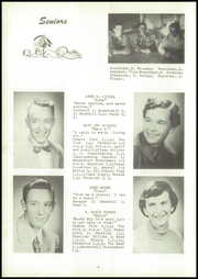 Page 12, 1955 Edition, Webster High School - Sylvacola Yearbook (Webster, WI) online yearbook collection