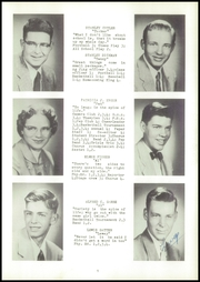 Page 13, 1955 Edition, Webster High School - Sylvacola Yearbook (Webster, WI) online yearbook collection