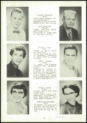 Page 14, 1955 Edition, Webster High School - Sylvacola Yearbook (Webster, WI) online yearbook collection