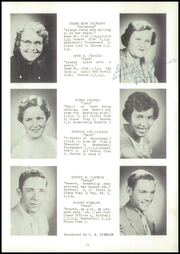 Page 15, 1955 Edition, Webster High School - Sylvacola Yearbook (Webster, WI) online yearbook collection