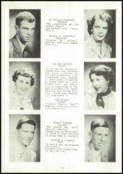 Page 16, 1955 Edition, Webster High School - Sylvacola Yearbook (Webster, WI) online yearbook collection