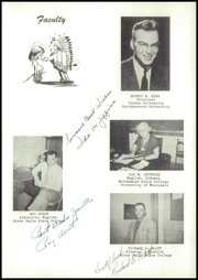 Page 7, 1955 Edition, Webster High School - Sylvacola Yearbook (Webster, WI) online yearbook collection