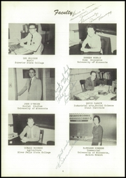 Page 8, 1955 Edition, Webster High School - Sylvacola Yearbook (Webster, WI) online yearbook collection