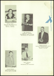Webster High School - Sylvacola Yearbook (Webster, WI) online yearbook collection, 1957 Edition, Page 9