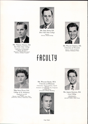 Page 12, 1952 Edition, Thorp High School - Seniorian Yearbook (Thorp, WI) online yearbook collection