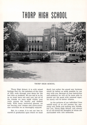 Page 6, 1952 Edition, Thorp High School - Seniorian Yearbook (Thorp, WI) online yearbook collection