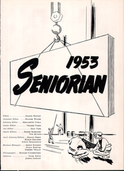 Page 5, 1953 Edition, Thorp High School - Seniorian Yearbook (Thorp, WI) online yearbook collection
