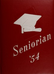1954 Edition, Thorp High School - Seniorian Yearbook (Thorp, WI)