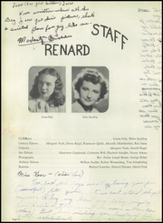 Page 16, 1945 Edition, St Mary Central High School - Renard Yearbook (Menasha, WI) online yearbook collection