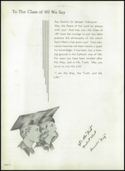Page 10, 1949 Edition, St Mary Central High School - Renard Yearbook (Menasha, WI) online yearbook collection