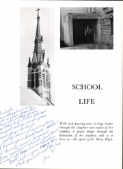 Page 7, 1966 Edition, St Mary Central High School - Renard Yearbook (Menasha, WI) online yearbook collection