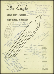 Page 5, 1952 Edition, St Johns Cathedral High School - Eagle Yearbook (Milwaukee, WI) online yearbook collection