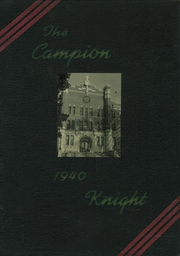 Page 1, 1940 Edition, Campion Jesuit High School - Knight Yearbook (Prairie du Chien, WI) online yearbook collection
