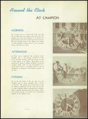 Page 13, 1940 Edition, Campion Jesuit High School - Knight Yearbook (Prairie du Chien, WI) online yearbook collection