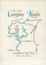 Page 5, 1960 Edition, Campion Jesuit High School - Knight Yearbook (Prairie du Chien, WI) online yearbook collection