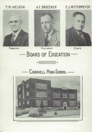 Page 12, 1946 Edition, Cornell High School - Reflector Yearbook (Cornell, WI) online yearbook collection