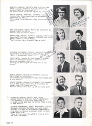 Page 14, 1950 Edition, Gibraltar High School - Viking Yearbook (Fish Creek, WI) online yearbook collection