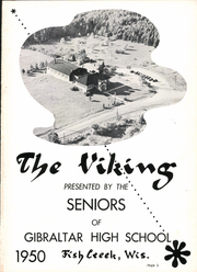 Page 5, 1950 Edition, Gibraltar High School - Viking Yearbook (Fish Creek, WI) online yearbook collection